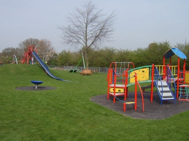 Brand new playground at Walkington Playing Fields