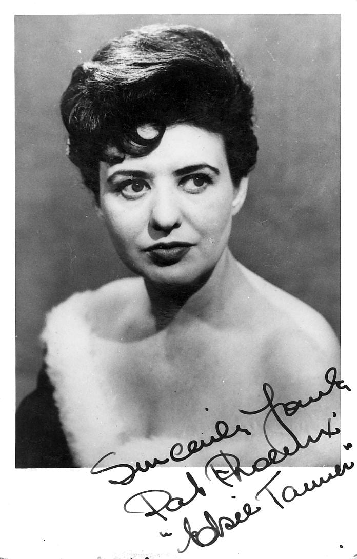Signed photo of Pat Phoenix