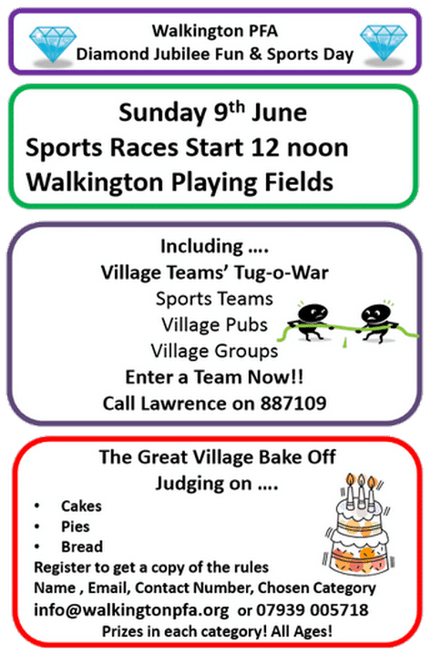Sports Day at Walkington Playing Fields