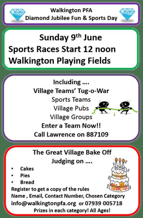 Sports Day at Walkington Playing Fields