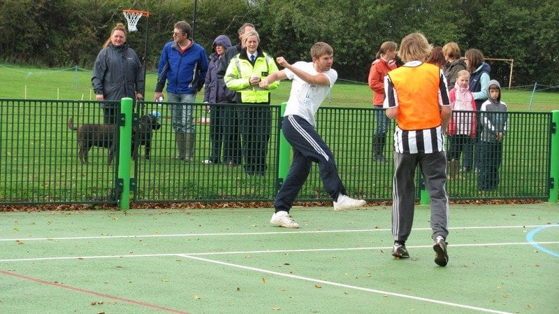 Walkington MUGA Opening