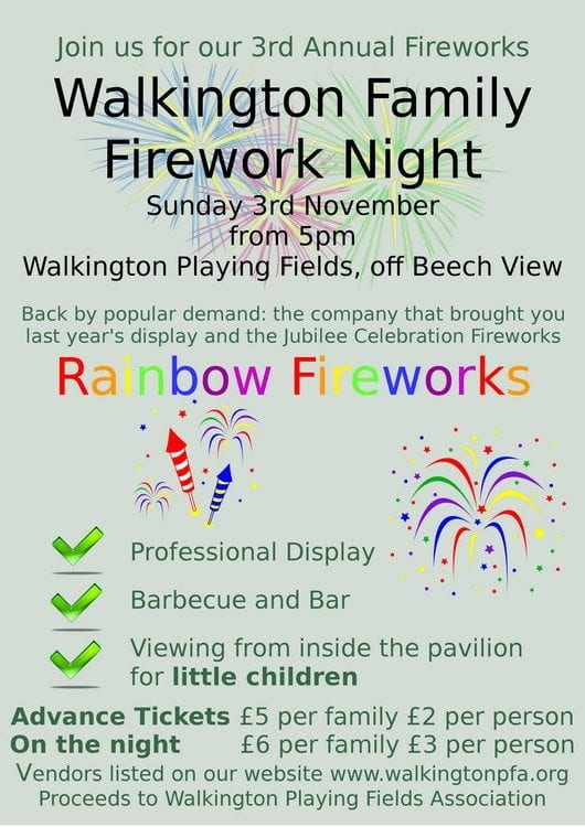 Walkington Family Firework Night