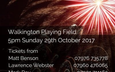 Walkington Fireworks 2017